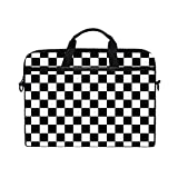 CHLBOJ Chess Checkerboard Competition 15 inch Laptop Shoulder Messenger Bag Case Sleeve Briefcase