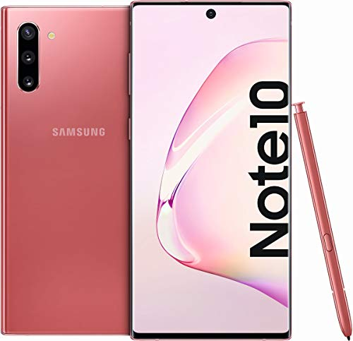 """Samsung Galaxy Note 10 - Smartphone 16 cm (6.3""""), 8 GB, 256 GB, 12 MP, Android 9.0, Rose"""