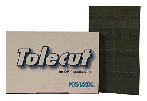 KOVAX TOLECUT P3000 1/8 CUT 29 x 35 mm BLACK / Schwarz