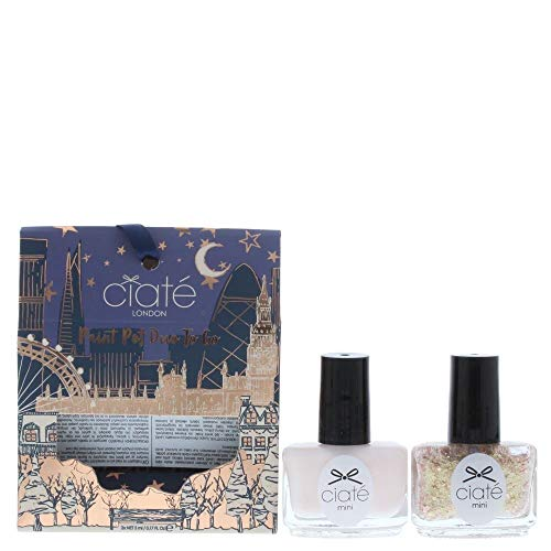 CIATÉ London Paint Pot Duo to Go- Antique Brooch/ Amazing Gracie, 10 ml