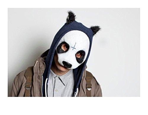 Panda Latex Maske in Lebensmittelqualität, Erwachsene und Kinder by ARTUROLUDWIG