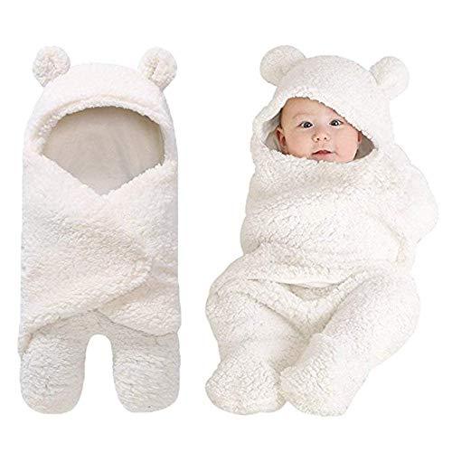 Baby Swaddle Blankets Newborn Boys Girls Clothes Unisex Winter Swaddle...