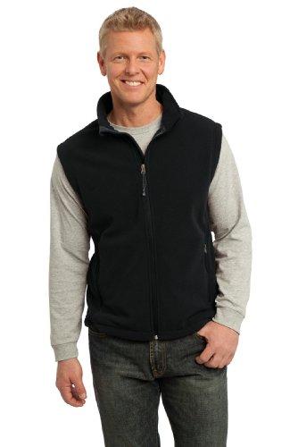 Port Authority Men's Value Fleece Vest M Black