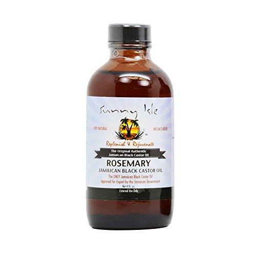 Sunny Isle d'huile de Ricin – Romarin 115 ml by Sunny Isle