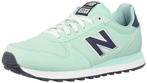 New Balance Women's 311v1 Lifestyle Shoe Sneaker, Light Reef/Nubuck Navy, 10 D US