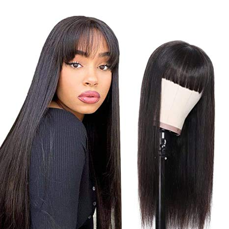 Yuyongtai Non Lace Front 予約販売品 Straight Peruvian Wig 毎日続々入荷 Remy 8A