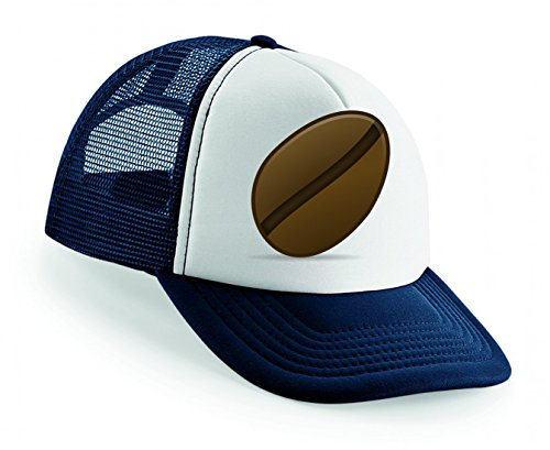 Snapback Bohne- Kaffee- ICON- Ikonen- MATT- Symbol Unisex Baseballmütze Trucker Mützen Base Caps
