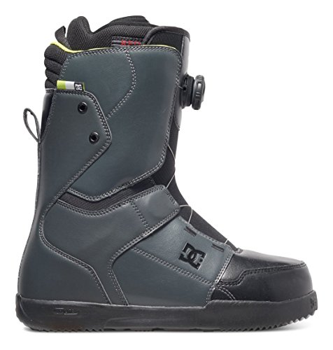 DC Scout Snowboard Boots, Size 12, Dark Shadow/Black/Lime