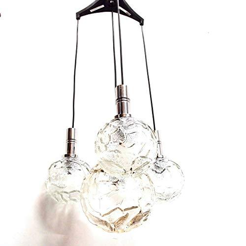 Hängelampe Kaskade Chrom Kugellampe Deckenleuchte Pendelleuchte pendant lamp
