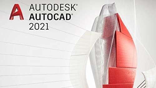Autodesk AutoCAD 2021 | Licencia de software digital / 1 años | Windows (solo 64 bits) | Entrega urgente 24h | incl. acceso de descarga