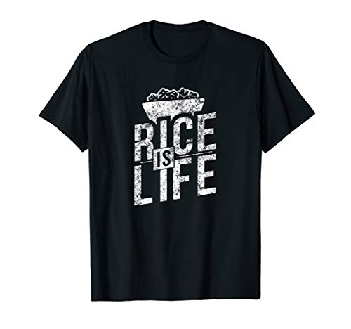 Filipino Gifts - Rice Is Life T-Shirt