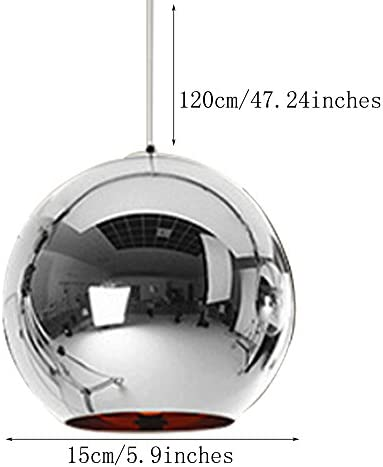 Glass ball pendant light _image2