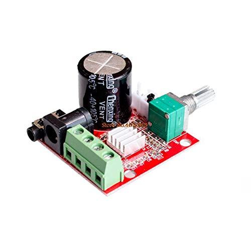 !Venta caliente 12V Mini Hi-Fi PAM8610 Audio Amplificador estéreo Tablero 2X10W Doble canal D Clase Precio más bajo