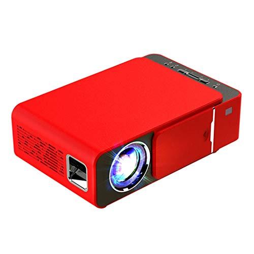 HongLianRiven videoprojector HD 800x480dpi mobiele thuisbioscoop -31,7 x 23,3 x 11,76 cm - kan op hetzelfde scherm worden gebruikt - voor thuiskantoor 11-12