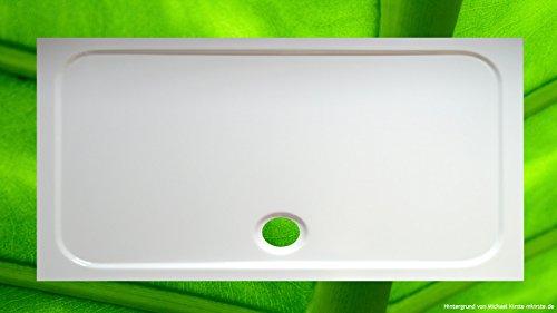 Plato de ducha 70 x 140 x 70 Rectángulo de ducha bañera 140 x 70 x 2,5 cm