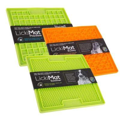 LICKIMAT 3er-Pack – 1 x Buddy, 1 x Schnuller, 1 x Spieldatum