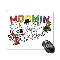 ムーミン マウスパッド 防水 滑り止めスクエアマルチ仕様マウスパッド ゲーミング オフィス最適 25*30cm