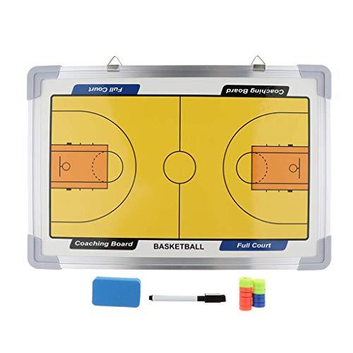 Tubayia Pizarra magnética de baloncesto para colgar