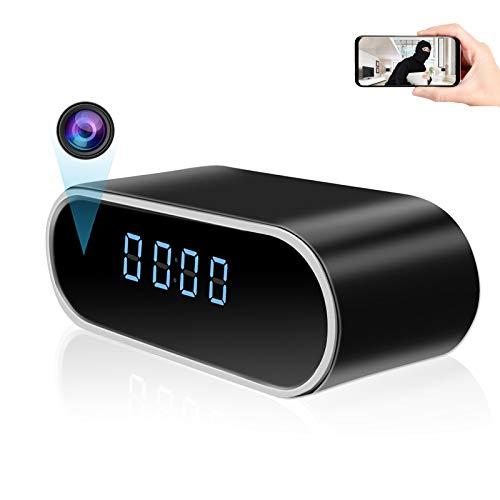 Spy Camera Clock, KAMREA HD 1080P Smart WiFi Clock Hidden Camera Wireless...