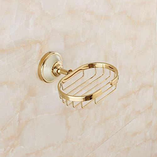 Fslt Seifenschale Im Europäischen Stil Kupfer Seifennetz Badezimmer Hardware Anhänger Amerikanische Seifenkiste Seifenschale Netz-K