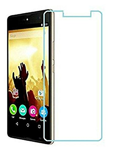 Unbreakable Screen Protector for Micromax Canvas Fire 5 (Far Better Than Tempered Glass) with Impossible Anti Shock and Hammer Proof Protection