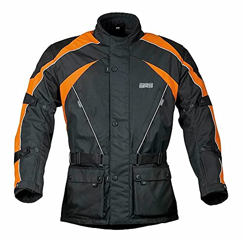 Jacke Twister, Farbe:schwarz-orange, Größe:L