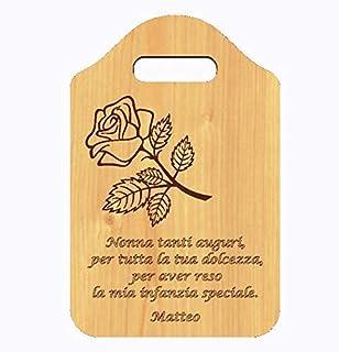 Idea Regalo originale FESTA DEI NONNI Compleanno nonna Tagliere decorativo con frase personalizzata Accessorio cucina home...