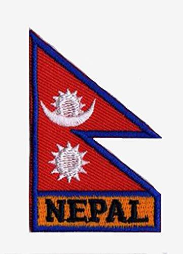 Aufnäher Flagge Nepal