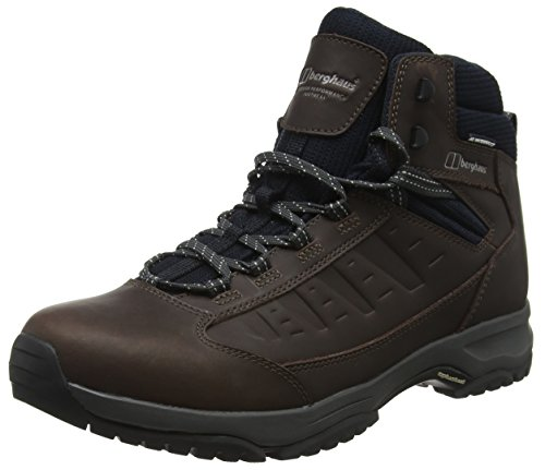 Berghaus Herren Exped Ridge 2 Tech Trekking- & Wanderhalbschuhe, Schwarz (Black/Brown Bbm), 45 EU