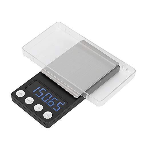 Báscula Digital para Cocina de Acero Inoxidable, Balanzas de joyería eléctrica, Balanza...