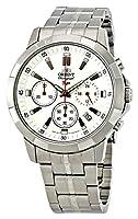 [オリエント] ORIENT SP Chronograph WhiteDial クオーツ 腕時計 SKV00004W0 メンズ [並行輸入品]