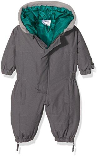 Julius Hüpeden GmbH Twins Unisex Baby Schneeanzug mit Kapuze, Grau (grau 3732), 10-12 Monate/80 cm (Herstellergröße: 80)