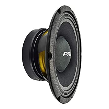 PRV AUDIO 10MB400-4 10  Midbass Speaker - 10 Inch Mid Bass Loudspeaker for Pro Audio Systems - 4 Ohms 400 Watts Program Power 200 Watts RMS Power 96 dB 10 Inch Mid-Bass Speaker  Single