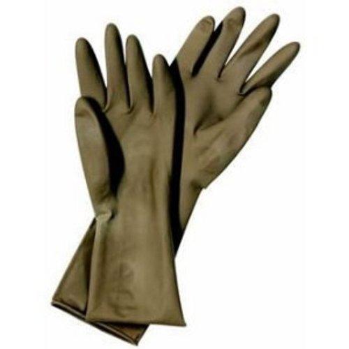 Matador Latex-Friseurhandschuhe zur Mehrfachverwendung, 1 Paar, Größe 6,5 (18 cm Handumfang)