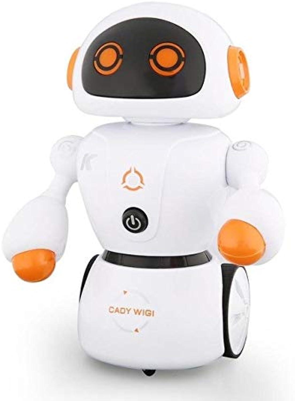 LySanSan  JJR C R6 Cady WIGI Intelligent RC Robot Music Dance Smart RC Robot Toy Programmable LineFollowing MazeSolving Kid Toy Gift