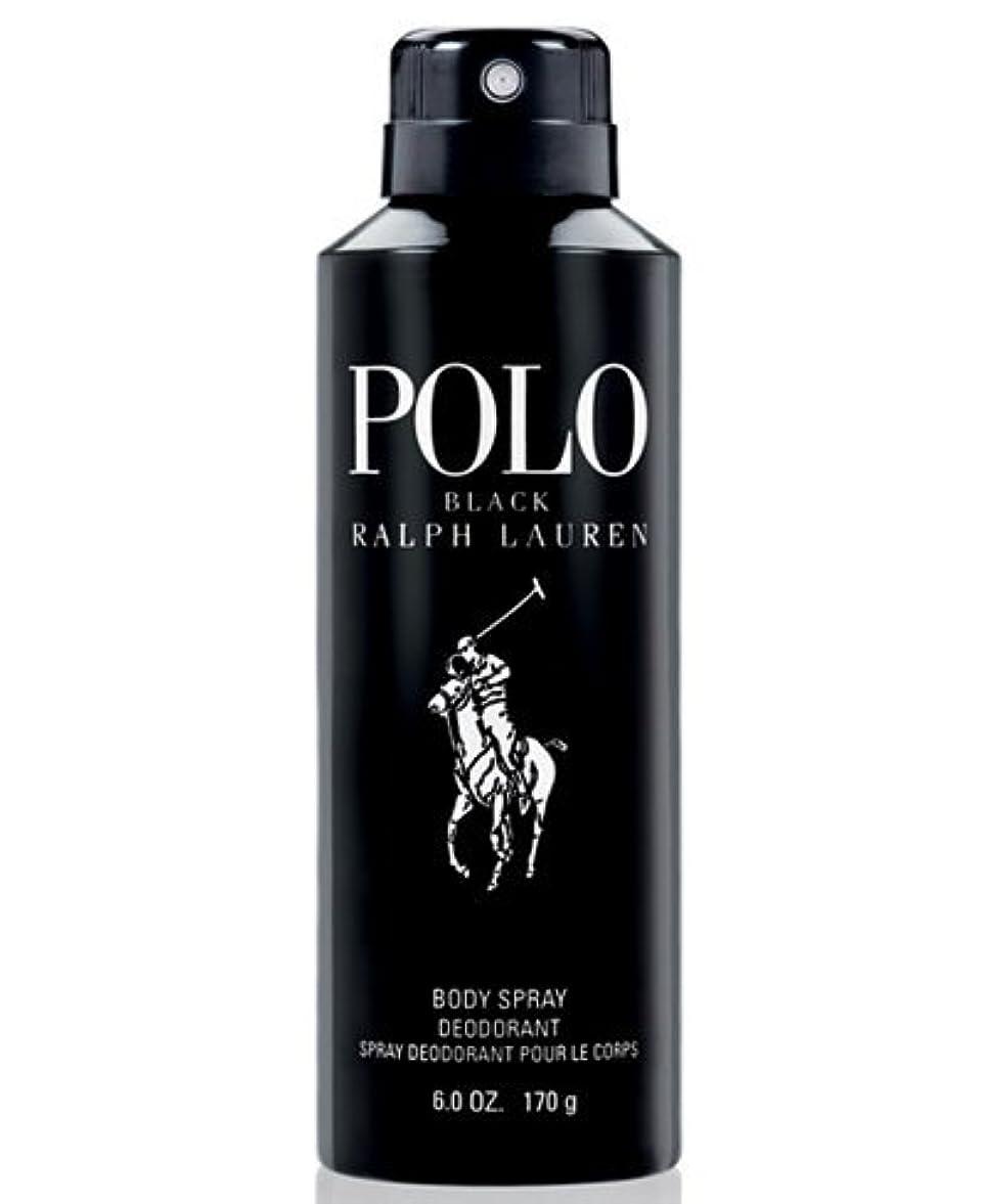 冷酷なそっとゴミ箱Polo Black (ポロ ブラック) 6.0 oz (180ml) Body Spray for Men