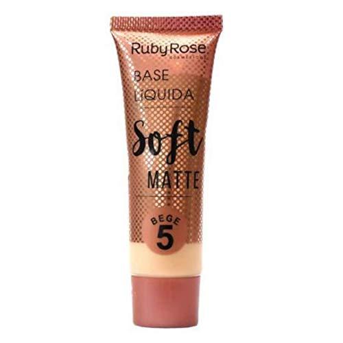 Base Líquida Soft Matte Bege HB-8050 Ruby Rose - Cor B05