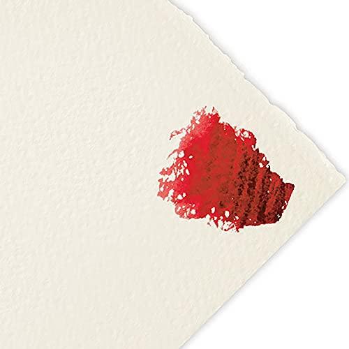 Fabriano Artistico Watercolor Paper 300 lb. Rough 10-Pack 22x30' - Traditional White