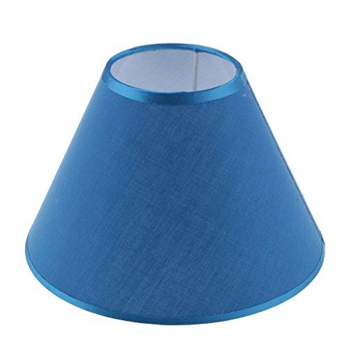 1x Ersatz Lampenschirm, Accessoire für Nachttisch Lampe und Stehlampe Reparaturteil - Blau