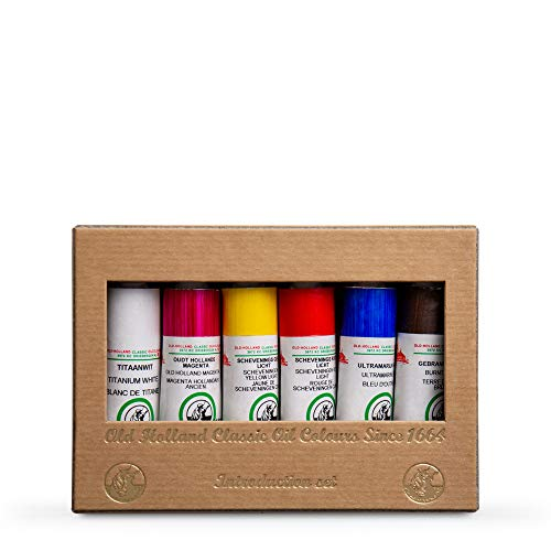 Old Holland : Classic Oil : Intro Set of 6 x 18ml Tubes Oil Colours