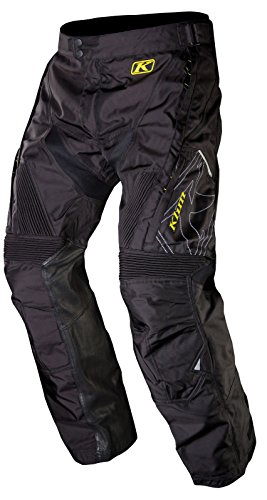 Klim Dakar - Pantalones de motocross para hombre, talla 30, color negro