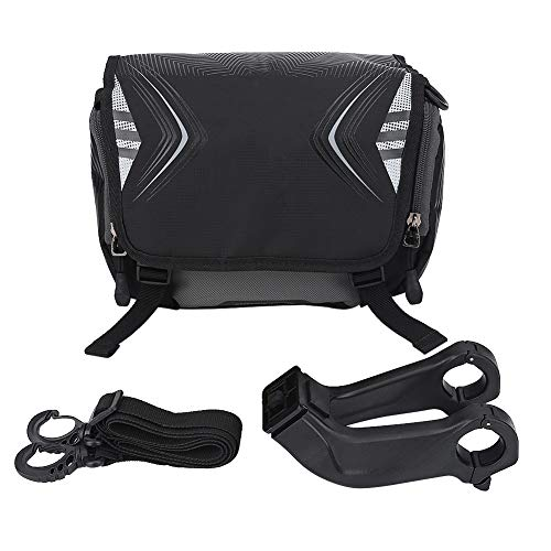 Best Prices! Ruiqas Bicycle Storage Bag, Bicycle Cycling Front Frame Tube Handlebar Bag Pouch Bicycl...