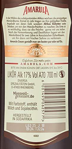 Amarula Cream in Geschenkpackung mit Glas (1 x 0.7 l) - 6