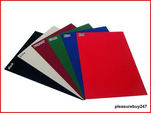 A3 selbstklebende Rückseite, Tabelle Samt Velours Craft DC Fix Vinyl Aufkleber blau Größe: A3
