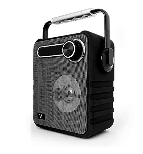 Vorago BSP-200 Mono Portable Speaker 5W Negro Altavoz portátil – Altavoces portátiles (5 W, 100-18 Hz,…