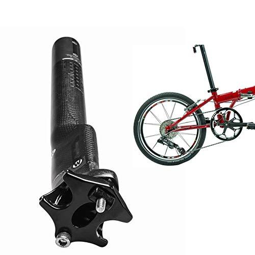 Lidauto fietszadel voor fiets, mountainbike, straatfiets, 27,2 mm, 30,8 mm, 31,6 x 350 mm/400 mm, koolstofvezel