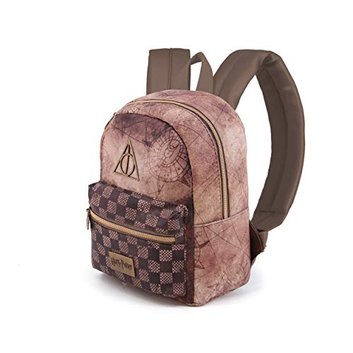 Karactermania Harry Potter Relic-Soft Backpack (Small) Zaino Casual, 27 cm, 7.5 liters, Multicolore (Multicolour)