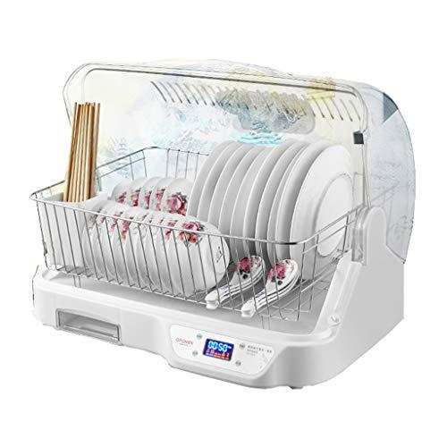 JCOCO Bol Drain 60L UV Cabinet de désinfection Plateau en acier inoxydable Multi-function Cuisine Ménage Vaisselle Boîte de rangement pour couverts