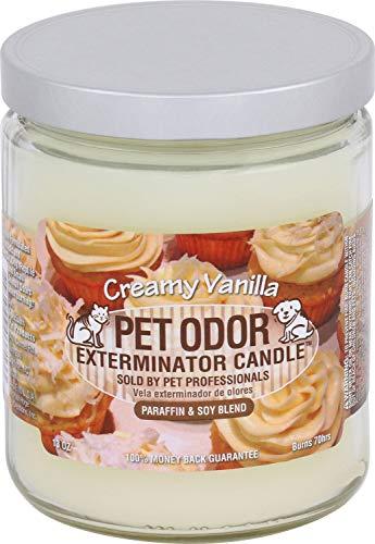 Pet Odor Exterminator Specialty Pet Products Kerze, cremiges Vanille, 313 ml, 2 Stück