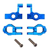 ZYCST Steering Front Hub Carrier(L/R) and Base C Socket Set(L/R) for 1:12 Wltoys 12423 12428 12429 Speed RC Car FY-01/02/03/04/05/07 Accessories Metal Upgrade Parts